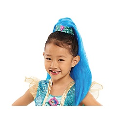 Shimmer N Shine - Blue Pony Tail - Shine' clip in pony tail
