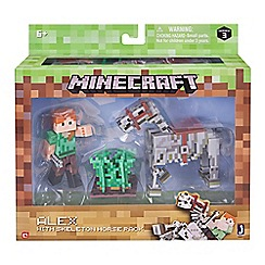 Minecraft - Alex and skeleton pack
