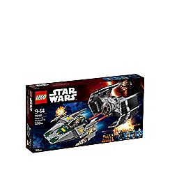 LEGO - Star Wars Vader's TIE Advanced vs. A-Wing Starfighter - 75150