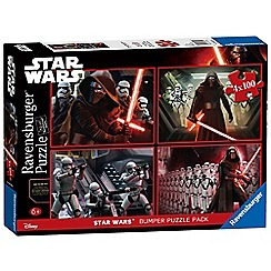 Star Wars - Episode VII 4x 100 piece Jigsaw Puzzle Bumper Pack