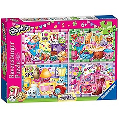 Shopkins - 4x 100 piece Jigsaw Puzzle Bumper Pack