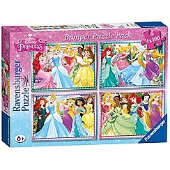 Disney Princess - 4x 100 piece Jigsaw Puzzle Bumper Pack