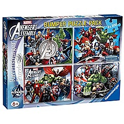The Avengers - 4x 100 piece Jigsaw Puzzle Bumper Pack