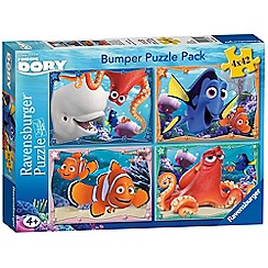 Disney PIXAR Finding Dory - 4x 42 piece Jigsaw Puzzle Bumper Pack