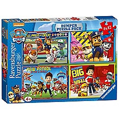 Paw Patrol - 4x 42 piece Jigsaw Puzzle Bumper Pack