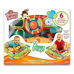 Bright Starts - Tummy cruiser prop and play mat