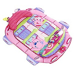 Bright Starts - Tummy cruiser prop and play mat - Pink