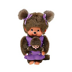Monchhichi - 20cm Mothercare Purple
