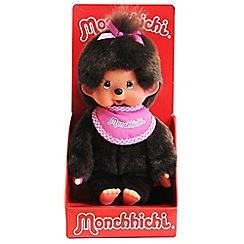 Monchhichi - 20cm Pink Bib Girl