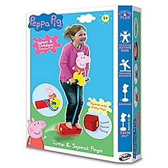Peppa Pig - Hop and squeek indoor and outdoor pogo