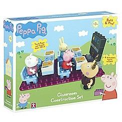 Peppa Pig - Classroom construction set