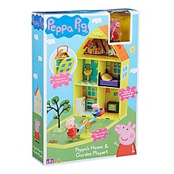 Peppa Pig - House and garden playset