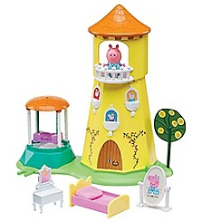 Peppa Pig - Princess Peppa's rose garden and tower