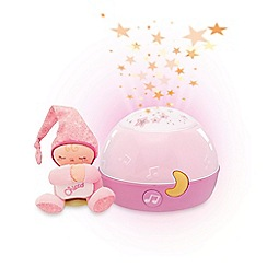 Chicco - Pink stars night projector