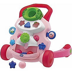 Chicco - Pink activity walker