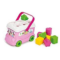 Baby Clementoni - Minnie Mouse Shape Sorter Bus