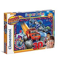 Clementoni - Blaze 104piece 3-D Puzzle