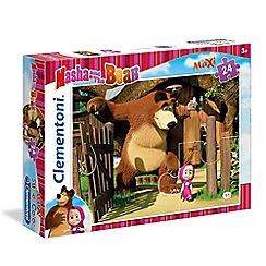 Masha and The Bear - 4piece Maxi Puzzle - Come play with me