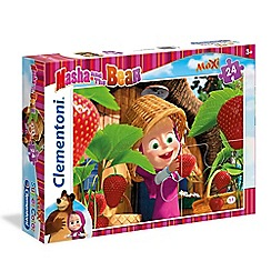Masha and The Bear - 24piece Maxi Puzzle - Strawberry