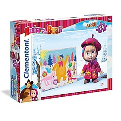 Masha and The Bear - 24piece Maxi Puzzle - Good Enough, not enough!
