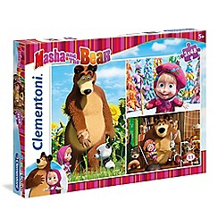 Masha and The Bear - 3 x 48piece Puzzle