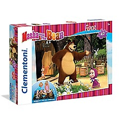 Masha and The Bear - 40piece Floor Puzzle