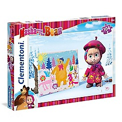 Masha and The Bear - 104piece Puzzle - Good Enough Not Enough