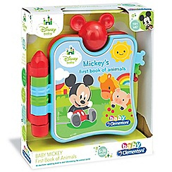 Baby Clementoni - Disney Baby Mickey Small Book