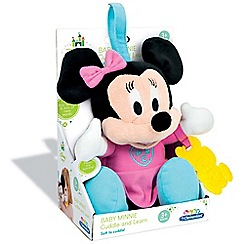 Baby Clementoni - Disney Baby Small Minnie Talking Plush