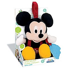 Baby Clementoni - Disney Baby Small Mickey Talking Plush