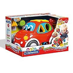 Baby Clementoni - Interactive Shape Sorter Car