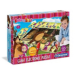 Masha and The Bear - Giant Interactive Puzzle Mat