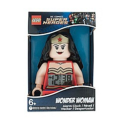 LEGO - DC Comics Super Heroes Wonder Woman Minifigure Alarm Clock