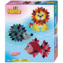 Hama - Beads Diamond Animals Craft Kit - 2500 beads