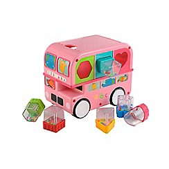 Early Learning Centre - Sorting bus pink