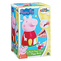 Peppa Pig - Cool Create Paint Your Own Piggy Bank