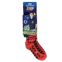 Flair - Messi Footbubbles Jumbo Socks - Red