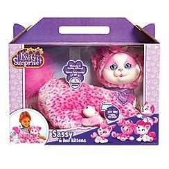 Flair - Kitty Surprise Sassy Wave 4 Plush Toy