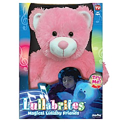 Flair - Snuggle Pets Lullabrites - Pink Teddy