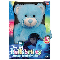 Flair - Snuggle Pets Lullabrites - Blue Teddy