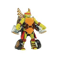 Teenage Mutant Ninja Turtles - Mutations Deluxe Figures - Turtle to Vehicle - Mikey