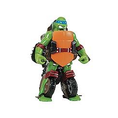Teenage Mutant Ninja Turtles - Mutations Deluxe Figures - Turtle to Vehicle - Leo