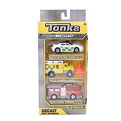 Tonka - Diecast Emergency 3pk