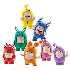 Golden Bear - Oddbods mini figurine set