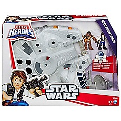 Star Wars - Playskool Heroes Galactic Heroes Millennium Falcon and Figures