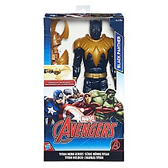 The Avengers - Titan Hero Series Black Panther With Gear