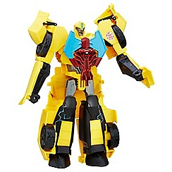 Transformers - Robots in Disguise Power Surge Bumblebee and Buzzstrike