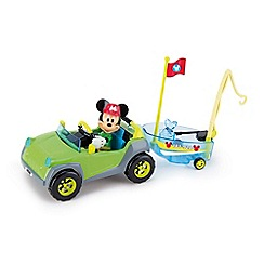 Mickey Mouse Clubhouse - Mickey 4x4 and boat - 181885