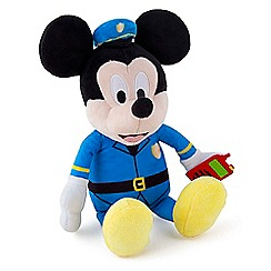 Mickey Mouse Clubhouse - Mickey Police Soft Toy - 182028