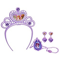 Disney Sofia the First - Tiara and Amulet Jewellery Set